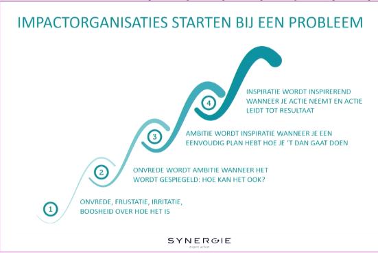 Hoe ziet een impactorganisatie eruit? Bron: Synergie